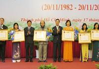 Trao huân chương Lao động hạng Ba cho sáu nhà giáo