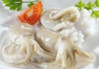 Bạch tuộc Việt bán được giá tại Mỹ