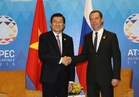 Chủ tịch nước Trương Tấn Sang tham dự hoạt động APEC