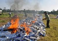 Chính phủ mạnh tay với thuốc lá lậu
