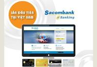 Internet Banking Sacombank thêm nhiều tính năng mới