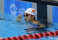 Giải bơi các nhóm tuổi Đông Nam Á 2015: VN về nhì khu vực