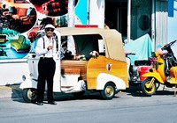Dân chơi xế độc Sài Gòn - Bài 1: Một đời nghiện khói Vespa
