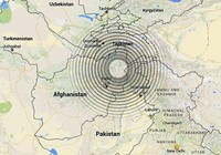 Động đất ảnh hưởng ba nước Afghanistan, Pakistan và Ấn Độ