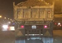Người dân khiếp xe ben, xe tải chạy ào ào lúc nửa đêm