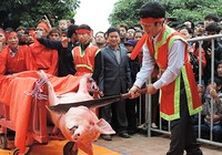 Tiếp tục tổ chức lễ hội chém lợn phản cảm?