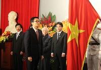 ĐH Mỹ thuật Việt Nam đón nhận huân chương Hồ Chí Minh