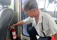 TP.HCM chưa phạt xe không bình chữa cháy