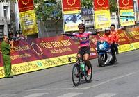 Giải xe đạp TH Bến Tre: Phát Đạt lần đầu thắng chặng