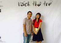Đi coi diễn thơ, chụp ảnh vách thơ ở Sài Gòn