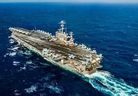 Mỹ triển khai tàu sân bay tuần tra biển Đông