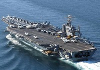 Tàu sân bay Mỹ rời biển Đông