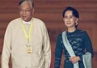 Chân dung tổng thống Myanmar