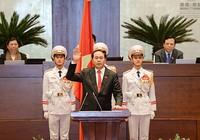 Tân Chủ tịch nước Trần Đại Quang: 'Nguyện trung thành với Tổ quốc, nhân dân'