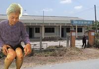 Bà cụ 82 tuổi sống trong sợ hãi