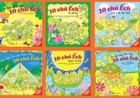 10 chú ếch ehon Nhật Bản đã đến Việt Nam