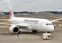Máy bay Boeing 787 đang bay, động cơ ngưng chạy