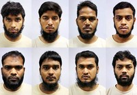 Tám nghi can khủng bố bị bắt ở Singapore