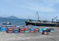 Khai trương tuyến vận tải hàng container qua cảng Vũng Áng