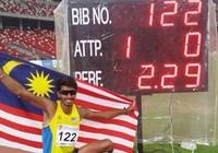Malaysia hy vọng có huy chương nhảy cao Olympic