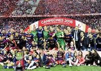Chung kết Cúp Nhà vua: Barcelona ghi cú đúp lần thứ bảy