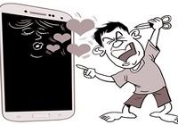 Bị chồng cũ đánh vì xem phim trên điện thoại