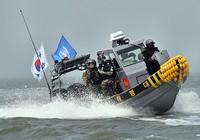 Quân cảnh Hàn Quốc và LHQ truy quét tàu cá Trung Quốc