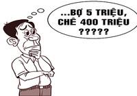 Trộm 'chê' 400 triệu đồng