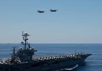 Tàu sân bay Mỹ diễn tập gần biển Đông