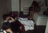 45 thanh niên phê ma túy trong khách sạn