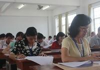 Thi tốt nghiệp THPT: Một số trường đã chấm xong môn trắc nghiệm