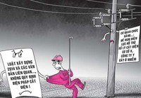 Vi phạm xây dựng, gây ô nhiễm: Không thể cắt điện, nước