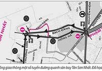 Nhiều đường xung quanh sân bay Tân Sơn Nhất thành một chiều
