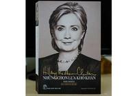 Hồi ký của bà Hillary gây sốt
