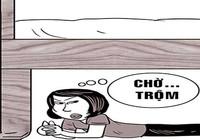 Trộm chui gầm giường