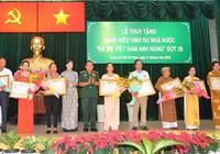 Tri ân các bà mẹ Việt Nam anh hùng