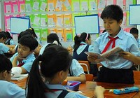 Học sinh tiểu học lận đận vì Thông tư 30
