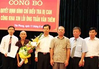 Ông Trần Văn Thêm yêu cầu bồi thường 8,3 tỉ đồng
