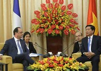 Tổng thống Pháp Hollande ấn tượng về sự phát triển của TP.HCM