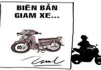 Bị CSGT giữ xe liền trộm mô tô người khác