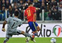 Ý - Tây Ban Nha (1-1) Sai lầm của hai lão tướng