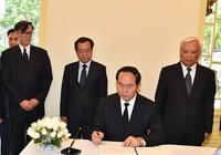 Chủ tịch nước viếng nhà vua Thái Lan