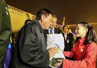 Ông Duterte đã tới Bắc Kinh