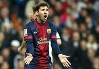 Khi Messi nổi cáu