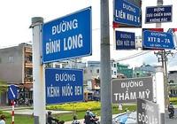 TP.HCM cần hơn 2.100 tên để đặt, đổi tên các con đường