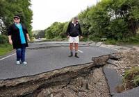 Đường bộ New Zealand hư hại nặng sau động đất