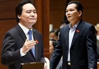 Bộ trưởng GD&ĐT liên tục nhận lỗi trước Quốc hội