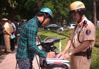 Đi xe máy không chính chủ chưa hẳn bị phạt