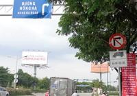 TP.HCM lo kẹt xe trầm trọng vì biển báo cấm xe tải mới