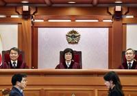 Xác định năm điểm buộc tội tổng thống Hàn Quốc